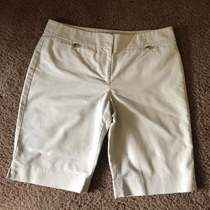 Ann Taylor knee length shorts